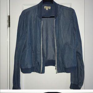 Cloth & Stone Chambray Jacket